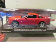 GREENLIGHT 1/18 RED 2010 FORD MUSTANG GT NEW IN BOX VERY COOL FOR FIRE UNIT