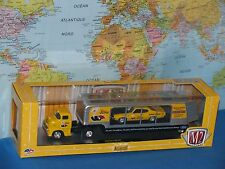M2 Machines Transparent Pneu poursuite Auto-haulers Edelbrock 1958 Chevy Coe