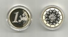 1 euro  Portugal Proof PP 2008 ( Belle épreuve ) BE