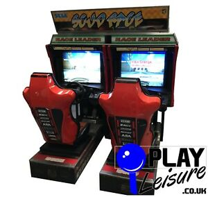 Sega Scud Race Twin Racer Arcade Machine - Ready to Play - Games Room Man Cave