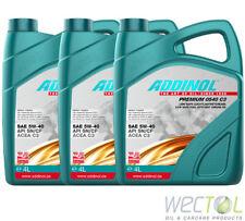 3x4 Liter Addinol Premium 0540 C3 5W-40 Motoröl für viele VW Audi MB BMW FIAT