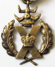 More details for british vintage medal x cross original in box