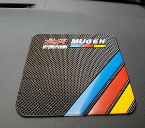 Mugen Power Anti-slip Car Dashboard Sticky Pad GPS Phone Holder For Honda