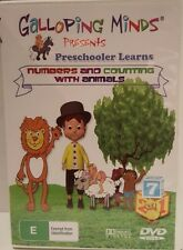 Galloping Minds: Numbers and Counting with Animals (DVD), - Free Postage