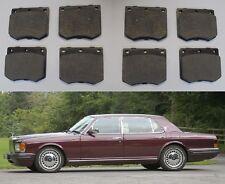 (x8) Rolls Royce Silver Spur espíritu Pastillas De Freno Frontal Conjunto (1980 - 89)