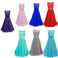 Wedding All Seasons Maxi Dresses (2-16 Years) for Girls