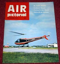 Air Pictorial 1977 November Enstrom,Finland,Carson Helicopters,Cant,DB-7 Havoc