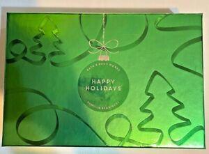 Bath & Body Works VANILLA BEAN NOEL Happy HolidayTravel Size 4pc Gift Set w/ Box