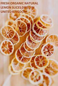 Organic Natural Dried Lemon Slices Gin-Tea-Christmas-Eat-Drinks-Decorations