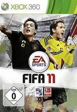XBOX 360 FIFA 11 CALCIO 2011 tedesco OVP * NUOVISSIMA