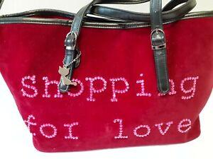 Lollipop French Designer Large Vintage Red Handbag Women's Handbag Paris France