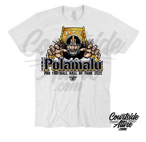 Troy Polamalu Mens Shirt Hall of Fame Pittsburgh jersey adult
