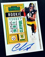 2020 Contenders CHASE CLAYPOOL Rookie Ticket Green SSP Auto RC #'d /23  STEELERS