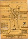 1937 INTERNATIONAL TRUCK D2 5 15 D30 35 DS 30 35 1934 1935 LAFAYETTE LUBE CHARTS