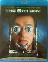 The 6th Day (Blu-ray Disc, 2008, All region) Arnold Schwarzenegger