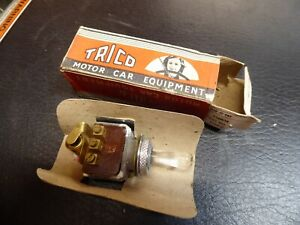 TRICO ILLUMINATED SWITCH PS2A RED BULB NEW BOXED COULD MODIFY FOR JAGUAR XK140
