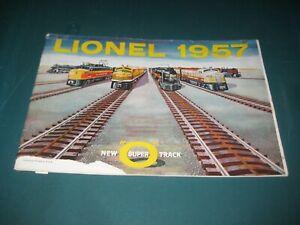 1957 LIONEL TRAINS POSTWAR CATALOG