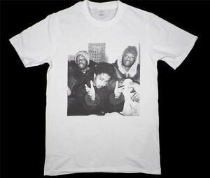 The Fugees Lauryn Hill Wyclef White T-Shirt Size S-XXXL hip hop rap biggie tupac