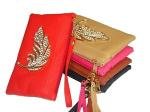 Fabulous Women's Kids Wristlet Purse Wallet Credit Card Cash Coin Mobile Holder
