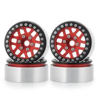 """4PCS 1.9"""" Beadlock Wheel Rim for 1/10 RC Axial SCX10 II 90046 CC01 D90 TRX4 US"""
