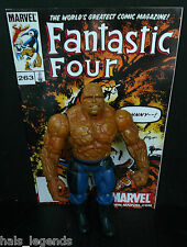 """Marvel Legends/Fantastic Four (4) 6"""" THING w/32 page comic book."""