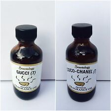 GUCCI & COCO-CHANEL ~ HOME DIFFUSER WARMER FRAGRANCE ESSENTIAL OILS 2OZ BIG!