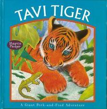 Tavi Tiger (Giant Peek-And-Find)