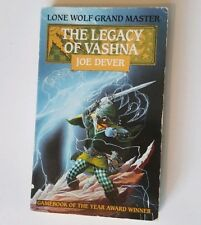 The Legacy of Vashna Lone Wolf #16 Red Fox First Edition 1991 Joe Dever VGC