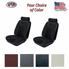 Low Back Bucket Seat Upholstery for 1979 - 80 Fox Body Mustang Coupe, Hatchback
