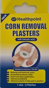 6 In A Pack Of Corn Caps Medicated Plasters Removal Foot UK Dispatch