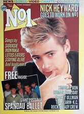 No 1 Number One Oct 1983 - Nick Heyward / Tracey Ullman / Simon Le Bon / Alarm