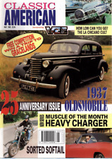 CLASSIC AMERICAN CARS Magazine. #25 May 1993 - 1937 Oldsmobile