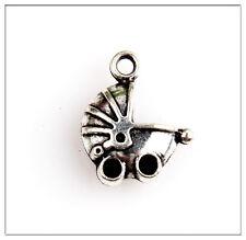 30 Baby Car Tibetan Silver Charms Pendants Jewelry Making Findings 1E5C3F