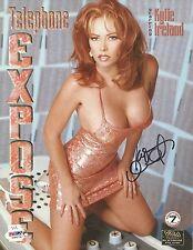 Kylie Ireland Signed 8x10 Photo PSA/DNA COA Telephone Expose Promo Poster Auto'd