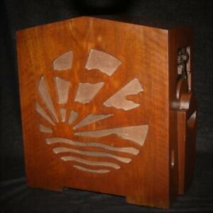 Vintage Pye Model MM Rising Sun Transportable Radio c1931- working