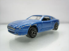 Diecast Majorette Aston Martin DB7 No. 229 Blue Good Condition