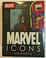Marvel Icons Magneto Bust w/COA Low 324/2000 Diamond Select Statue MIB