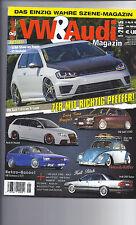 Autozeitschrift VW & Audi 1/2015 Golf 7 GTI, Audi A4 Avant, Sciroccop 2 GTI,