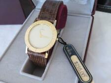 Men's Citizen Noblia Sapphire Collection Gold Tone Watch NOS $295 w/Case/Papers