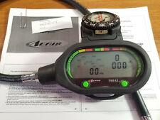 Aeris 500 ai Air Integrated Air /Nitrox Scuba Dive Computer w Manual & Compass