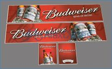3-Axle 56319 Tamiya 14th Scale Budweiser Truck Reefer Box Trailer Decals + GIFT