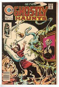 Ghostly Haunts #48 VG- (3.5) Charlton Comic 1976 LOW GRADE COPY