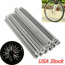 36Pcs Cycling Wheel Spoke Reflector Bike Bicycle Reflective Mount Clip Tube USA