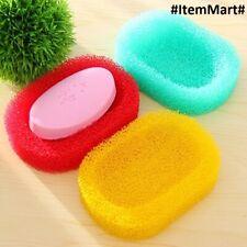 Soap Holder Sponge Random Colors Anti-Slip Water Drain Case FREE Shipping