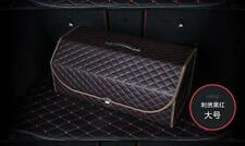 High Grade Leather Car Stowing Tidying Car Trunck Storage Box Leather Material L