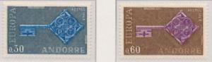 Andorra - 1968 - Europa Omnibus Issue MNH