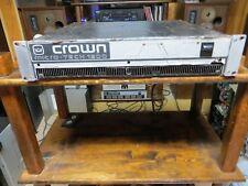 crown micro tech 1200  600 watts per channel @ 8 ohms power amplifier