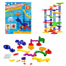 Marble Run Race Game - 56 Pieces - Age 5+