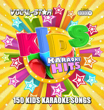 VOCAL-Star Kids Bambini Karaoke CDG CD + G Disc Set 150 CANZONI PER KARAOKE
