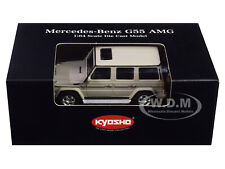 MERCEDES BENZ G55 AMG GRAY 1/64 DIECAST MODEL CAR BY KYOSHO K07021G10